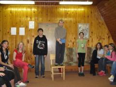 Vyhlášení vítězů slalomu