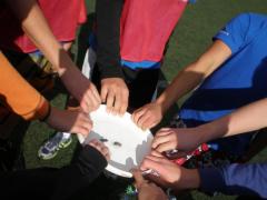 Frisbeans na kvalifikačním turnaji středoškolské ligy