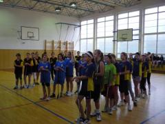 Florbalový turnaj dívek nižšího gymnázia