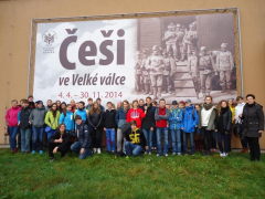 Exkurze kvart, dějepisného semináře a Historického klubu                                      do Národního památníku 2. světové války v Hrabyni