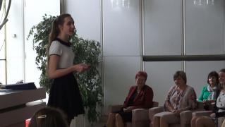 Slavnostní předávání maturitního vysvědčení ve školním roce 2014/2015