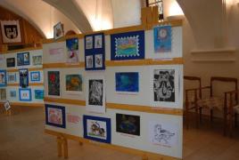 Výstava prací v jičínském zámku