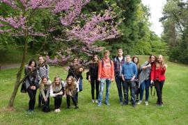 Exkurze biologického semináře do Arboreta v Novém Dvoře