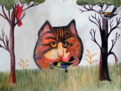 Aneta Hrdá, 2A4 - Kočka, americký anonym
