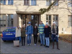Exkurze biologického semináře do Ústavu soudního lékařství a Mendelova muzea v Brně