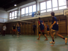 Volejbalový turnaj ZŠ chlapců - obvodní kolo