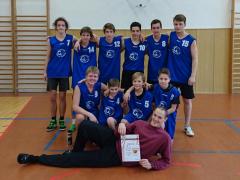 Vítězný tým hochů