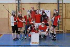 14. ročník vánočního volejbalového turnaje zcela ovládly maturitní ročníky