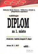 Diplom - 1. místo
