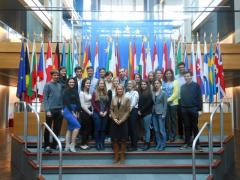 Návštěva europarlamentu ve Štrasburku