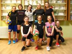 Obvodní kolo ve volejbale dívek