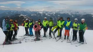 Lyžařský kurz Alpy 2017