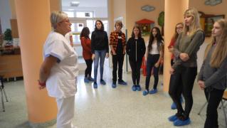 Exkurze do krevního centra