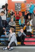 """Nebojíme se nápadů našich žáků aneb Martin Šmatera a naše """"nové"""" schodiště"""