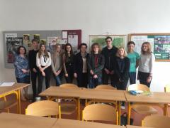 Konverzační soutěž ve francouzštině – školní kolo