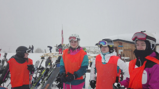 Lyžařský kurz, Alpy 2018