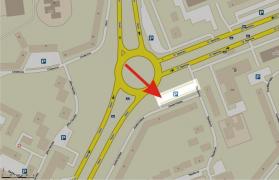 Sraz (streetmapa - detail)